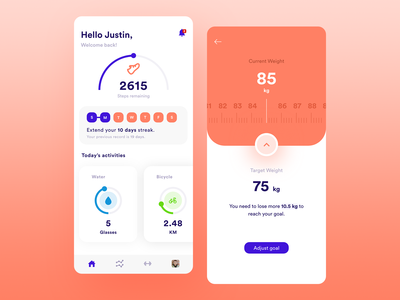 Stay Healthy - Workout Tracker App