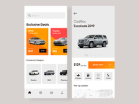 Car Rental App - Concept