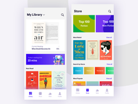 Book Reading & Store - App Concept
