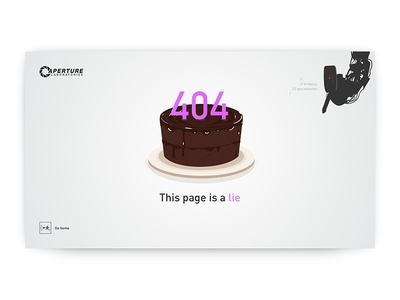 404 Page - Weekly UI Challenge S02/W02