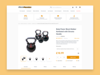 Fitness Superstore Product Page