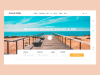 Hotel & Resort Landing Page