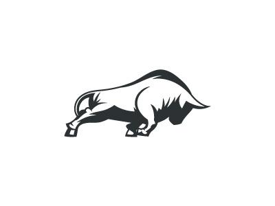 Bull Mark bull taurus mark logo bas bas studio udhaya