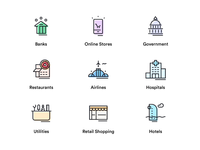 Sector Icons