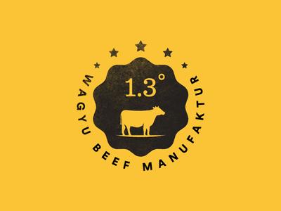 1.3 degrees, Beef manufacturer