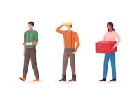 Employee Benefits Illustration