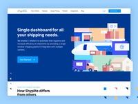 Logistics Landing  Page