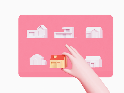 Home stay selection illustration