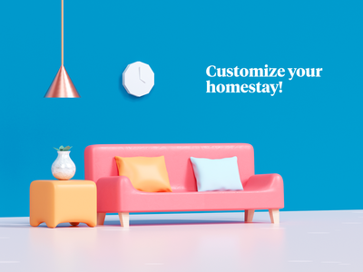 Home customization static version