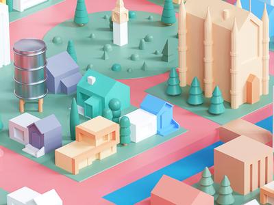 Streetview illustration