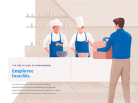 Employee benefits page