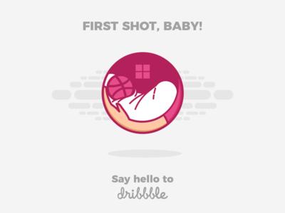 First Shot, Baby!