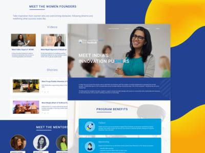 SheLeadsTech Website Design