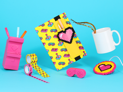 Power Up Stationery Collection