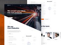 CerviRobotics Landing Page