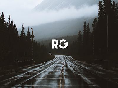 Minimalist Logo rg 2 letters illustraor photoshop graphic design minimal minimalist logo