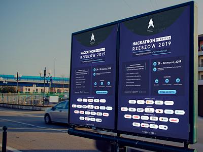 Hackathon 2019 - citylight poligraphy print hackathon brand citylight