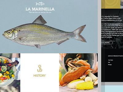 La Marinella - UI seafood restaurant lamarinella