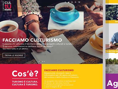 Facciamo Culturismo Website Proposal
