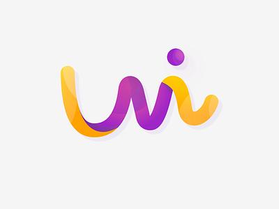 UI Global Editor Logo gradient brand logo ui