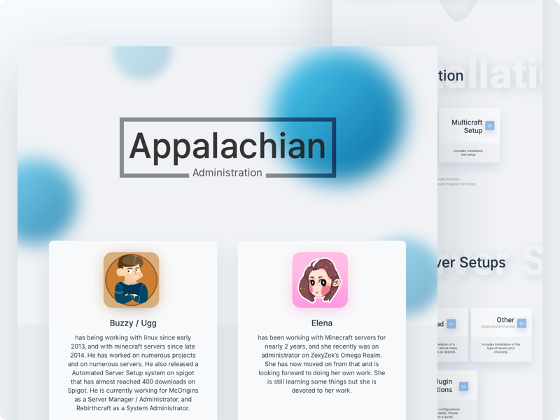 Appalachian's Thread Design shadow white blur branding design thread