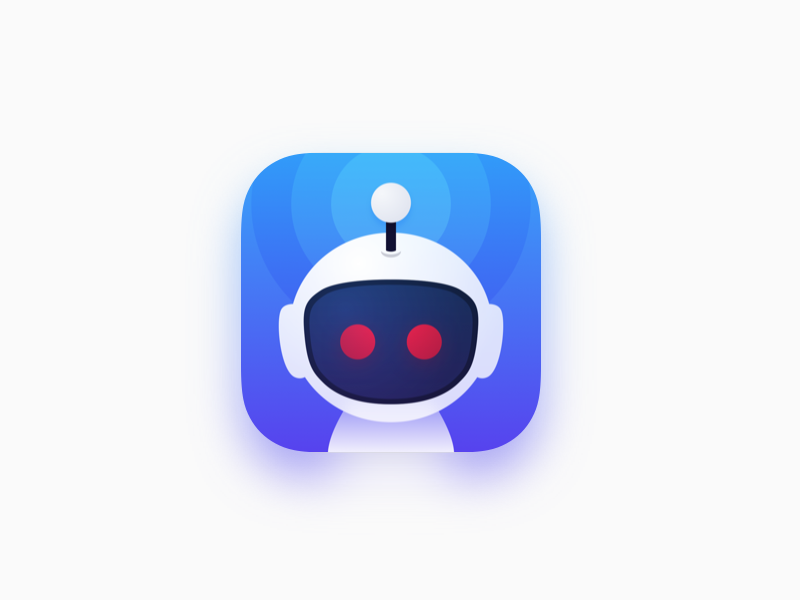Apollo App Icon Revamp ios alien gradient revamp app icon