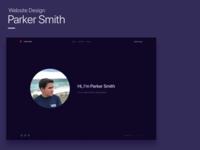 Parker Smith Website Design