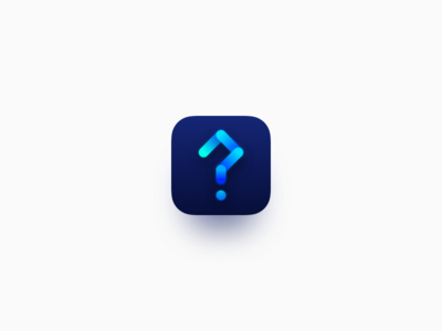 Question App Icon Exploration