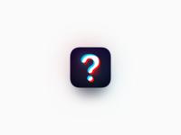 Question App Icon Exploration