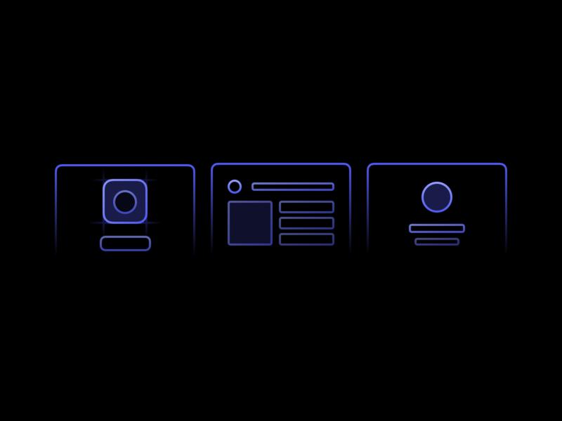 Services Icons thread design uiux icon logo branding services