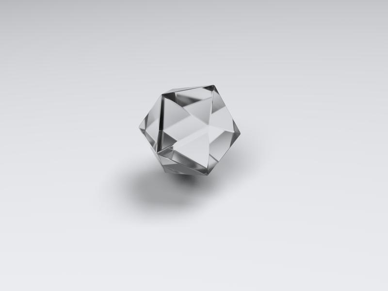 Prism 2 prism render 3d