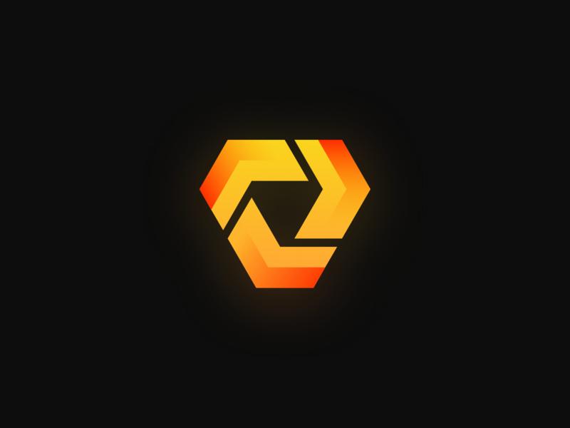 VoxelTrade Branding Logo symbolmark symbol logo branding