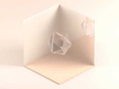 3D Light & Material Exploration prism material render light