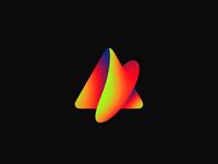 Asentium Branding Logo animation gradient logo branding asentium