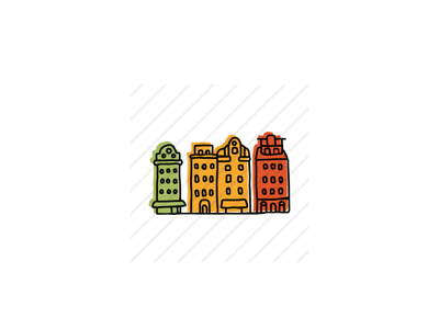 Gamla Stan typography icons design icon sketch logo branding illustration hand-drawn vector