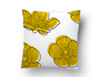 Buttercup Pillow Pattern