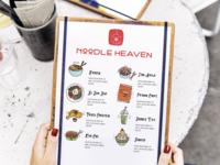 Noodle Heaven Menu