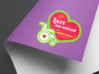 LOGOTIPO ♡ Lacre Solidário logo logotype logodesign desinger design