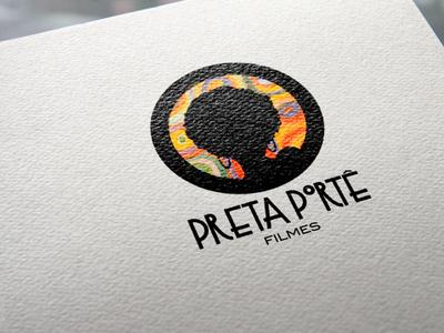 LOGOTIPO ♡ Preta Portê Filmes brazil logotype filmindustry illustration logodesign desinger logo