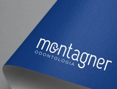 LOGOTIPO ♡ Montagner Odontologia art artist designer design brasil estampadonna brazil logotype logodesign logo