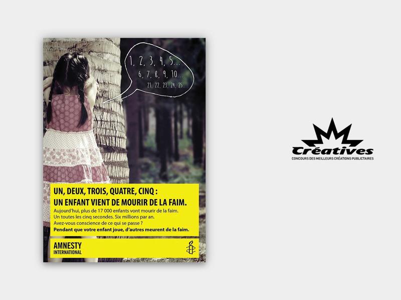 Amnesty International Constest - Poster indesign brand poster flyers amnesty presentation design