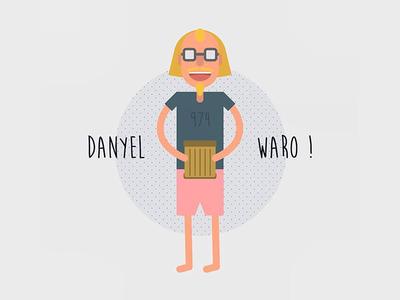 Illustration Danyel Waro 974 reunion island flat flat  design illustration