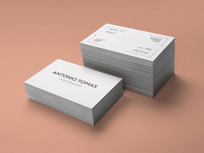 Antonio Tomas Photographer logo logo design web design cards business cards corporate identity identity branding