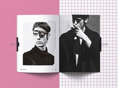 B-Side Magazine tipography photography art direction magazine layout graphic design design editorial design
