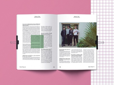 B Side Magazine photography art direction magazine design magazine grid system tipography graphic design layout design editorial design