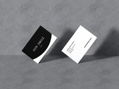 SunSmile Duo logo logo design web design cards business cards corporate identity identity branding