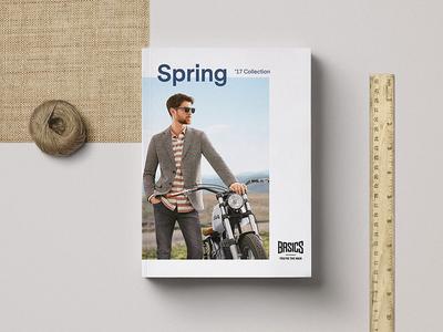 Basics Spring '17 Catalog Design magazines graphic design fashion catalog design catalog catalogue catalogue design editorial design