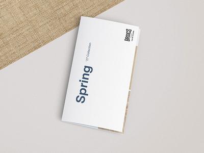 Basics Spring '17 Catalog Design fashion art direction editorial design graphic design catalogue design catalog catalog design foldout design foldout