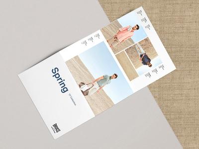 Basics Spring '17 Catalog Design  art direction fashion catalogue design catalog design catalog catalogue graphic design foldout design foldout editorial design