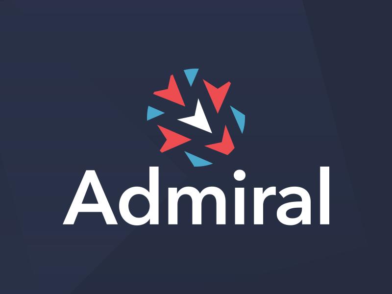 Admiral nautical branding logo